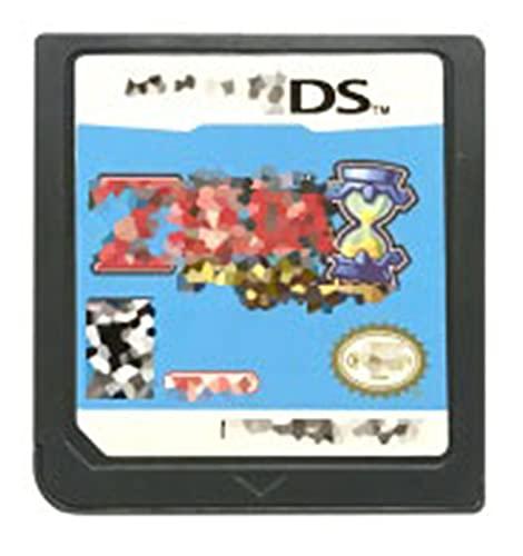 CMDZSW Tarjeta de Consola del Cartucho del Juego DS La Leyenda de la Serie Zelda es Adecuada for Nintendo DS 3DS 2DS (Color : Phantom Hourglass US)