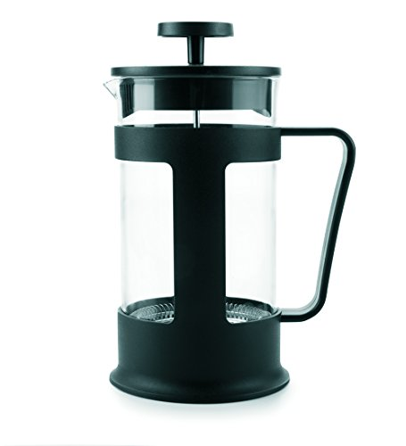 IBILI 623706 Cafetier à Embolo, Plastique, Noir, 14 x 10 x 19 cm