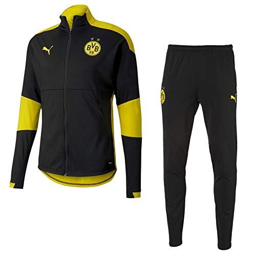 PUMA Borussia Dortmund Trainingsanzug 2020 Kinder schwarz gelb Gr 164