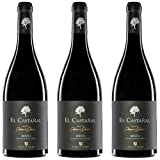 El Castañal Vino Tinto  - 3 botellas x 750ml - total: 2250 ml