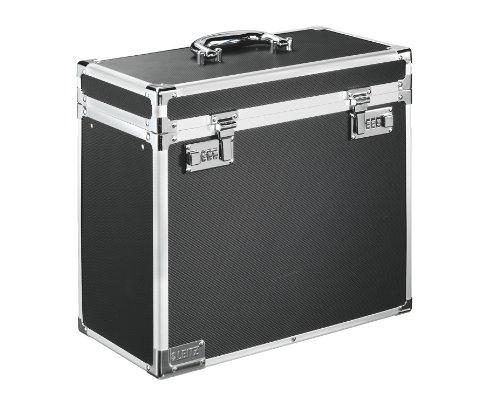 Leitz 67160095 Aluminio, De plástico, Acero, Madera Negro, Cromo caja y organizador para almacenaje de archivos - Organizador de almacenaje (Aluminio, De plástico, Acero, Madera, Negro, Cromo, A4, 2,32 kg, 366 x 165 x 310 mm)
