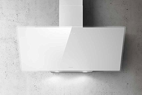 Elica Shire WH/A/90 monté muraux B Blanc – Hotte (mural, canalizado, B, LED, blanc, toucher)
