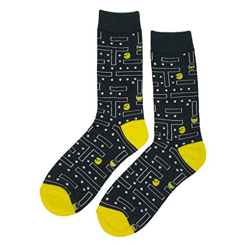 Pac-Man Maze Themed Socks for Adults Size 8-12