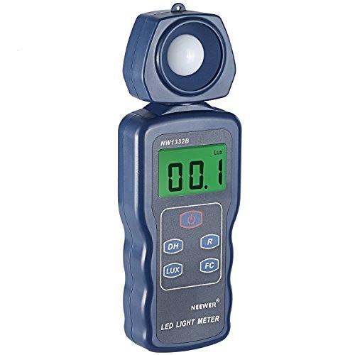 Neewer LED Light Meter Digital Luxmeter Illuminance Meter Handheld...