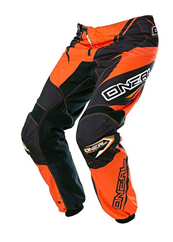 O'Neal Element Racewear kinderbroek zwart oranje Youth Motocross MX DH Offroad, 0128-42