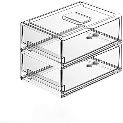 Regular store 2 Packs Kitchen Refrigerator Storage Fresh-k Drawer Type Box Sales for sale
