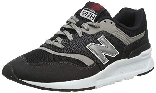 New Balance 997h, Zapatillas Hombre, Negro (Black), 42.5 EU