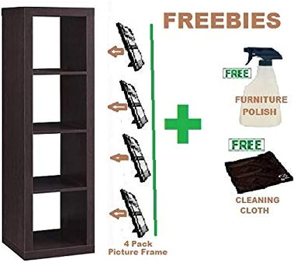 Better Homes And Gardens 4 Cube Organizer Storage Bookcase Bookshelf 4 Cube Espresso Freebies