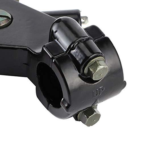 Cilindro de embrague maestro de embrague de aluminio Freno CNC Hermoso para bicicleta eléctrica para motocicleta para scooters para mejorar la seguridad(Piston diameter 19mm, blue)