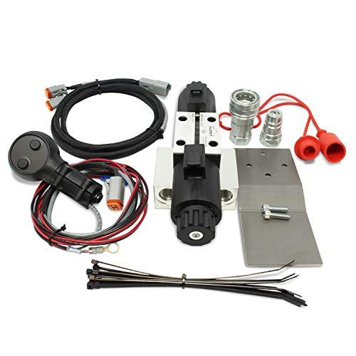 Universal Hydraulic Third Function Valve Kit w/Joystick Handle, 15 GPM, 1/2' Body Ag Couplers