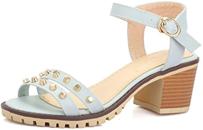 WHW Women's Summer Comfort PU Outdoor Flat Heel Others Sandals