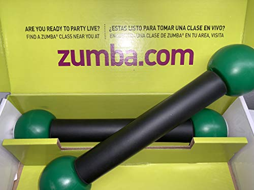 Zumba Fitnes Toning Sticks 1lb In Box