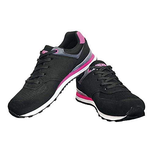 Reis Bslady_Bpi37 Grensho - Zapatillas deportivas (talla 37), color negro y rosa