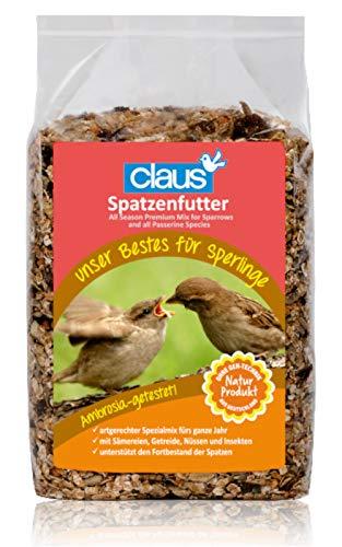 Claus Comida para gorriones (700 g). 🔥