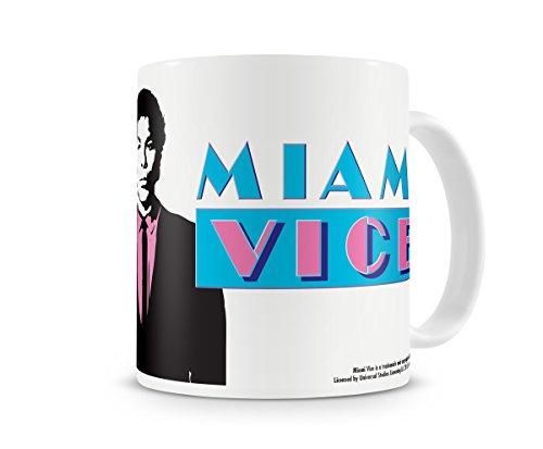 Offizielles Lizenzprodukt Miami Vice Kaffeetasse, Kaffeebecher