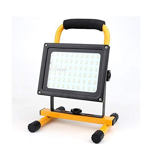 PULLEY Luz de trabajo LED de 100 W, diseño ligero, IP65 impermeable al aire libre soporte desmontable para el hogar taller construcción