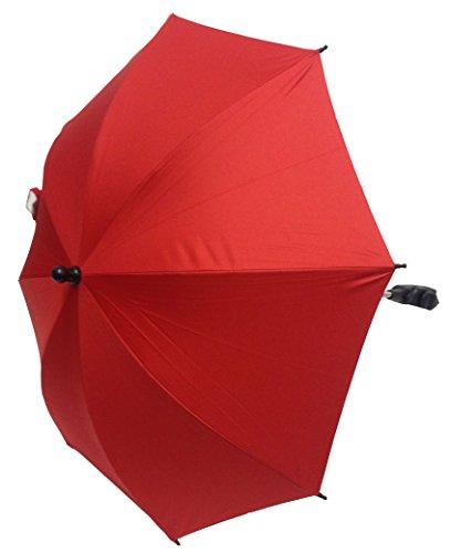 Tienda para bebé sombrilla Compatible con Bugaboo carrito para cochecito de bebé, color rojo