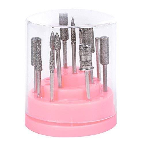 Artlalic Lime à ongles Porte-embout Big ongles en acrylique Foret support organiseur Conteneur 48 trous outils de manucure acrylique Coque