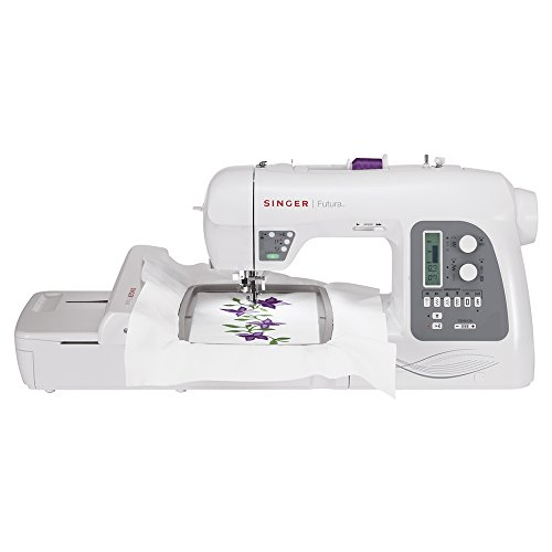 SINGER | Futura XL-550 Computerized Sewing and Embroidery Machine with...