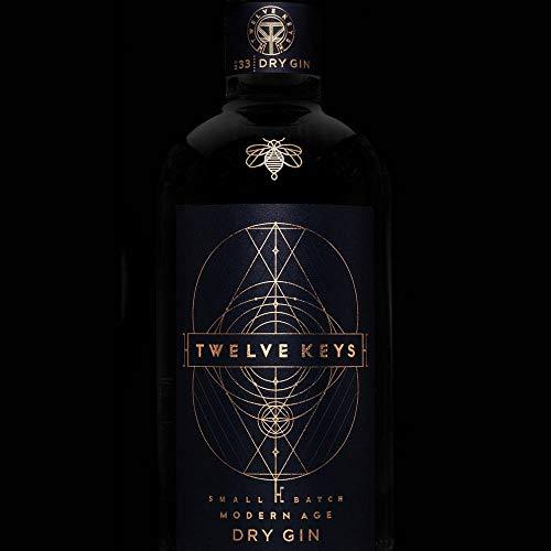 Twelve Keys N°33 Dry Gin 0,7L (46% Vol)