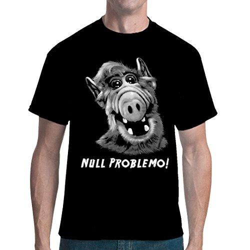 Im-Shirt - A.L.F - Null Problemo Cooles Unisex Fun Schwarz XL