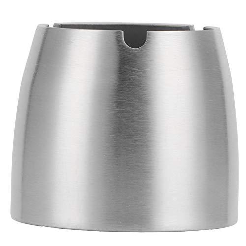 Ceniceros para el hogar, cenicero para exteriores Cenicero de acero inoxidable para exteriores para interiores para el hogar(Small cone ashtray)