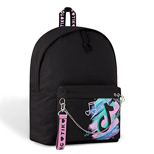 TikTok School Bag, School Bags for Girls, Rucksack Casual Daypacks, Tik Tok...