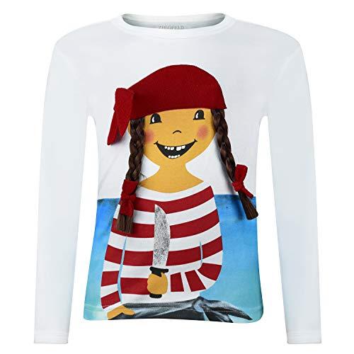 Camisa de Manga Larga con la Pirata Paula (86)