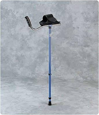 Walk Easy Adult Platform Crutch Black