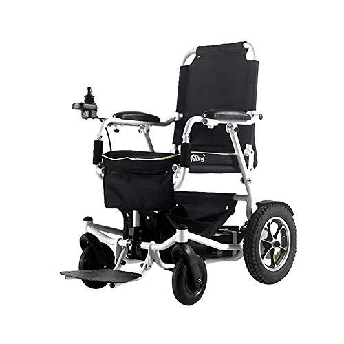 FTFTO Inicio Accesorios Scooter de Movilidad para Silla de Ruedas eléctrica Plegable y Ligera para Personas Mayores
