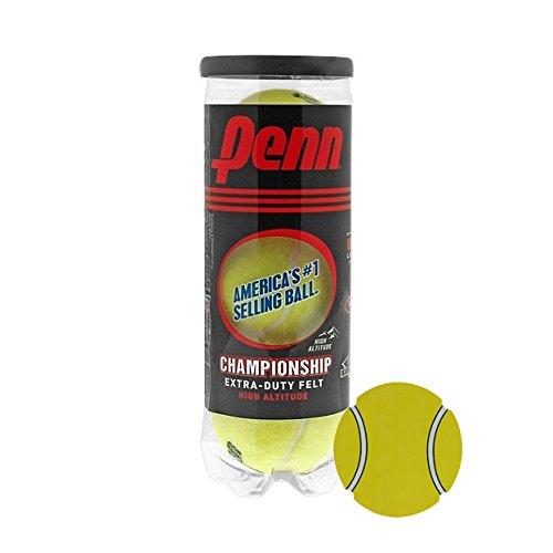InPrimeTime Penn Championship Tennisbälle, Acer 's Dutzend: 13Dosen (39Bälle) Super Value Bundle mit Exklusiven Magnet, High Altitude