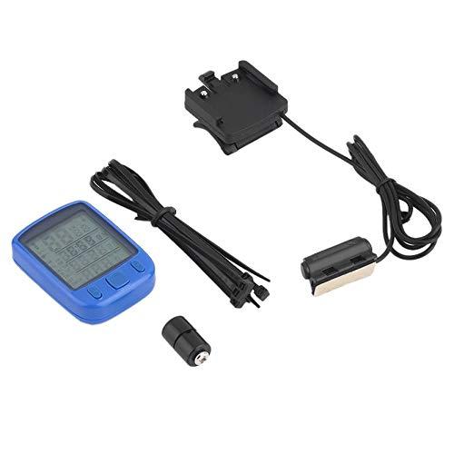 Sylvialuca Fietsfiets LCD Computer Odometer Speedometer Met Backlight Monitor Fietsen Snelheid Afstand En Rijtijd