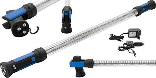 BGS 9757 | LED-Motorhauben-Leuchte mit Akku | 800 Lumen | Fuß schwenkbar | 3 Magnete pro Seite