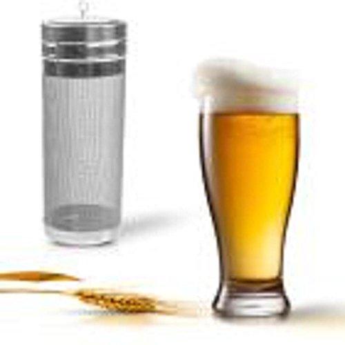 STRIR cerveza seco Hopper Filtro 300 micras filtro de malla acero inoxidable...
