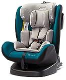 MOKKI Siège auto pivotant Isofix 0/36 kg Groupe 0123 Turquoise