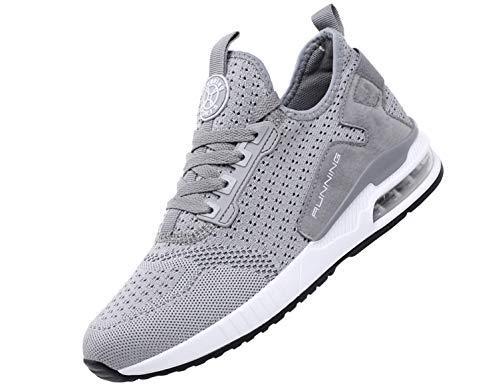SINOES 2020 Zapatillas Deporte Hombres Running Zapatos Hombre Deportivos Casuales Zapatillas Running Hombre Auriculares Correr en Asfalto Calzado Deportivo Hombre