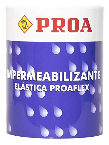 Impermeabilizante elástica para fachadas Proaflex PROA. Antigoteras.