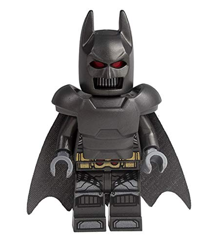 LEGO Superhéroes: Batman blindado pesado con capa