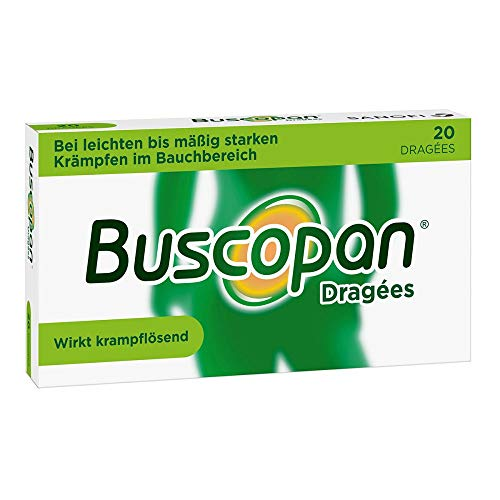 Buscopan Dragées Original Sanofi-Aventis, 20 St. Tabletten