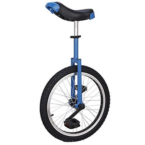 JFF Monociclo A Prueba De Fugas Rueda De Neumático De Butilo Ciclismo Deportes Al Aire Libre Ejercicio Físico Pedal Equilibrio Equilibrio De Coche Ciclismo Ejercicio Fitness,Azul,18