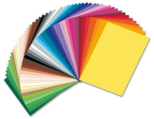 Tonpapier 130g Sonderedition 50 Bogen in 50 Farben 50x70cm