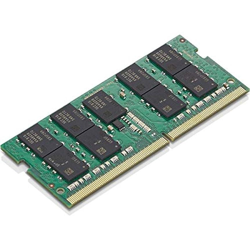 しっかり悪行休憩するLenovo Memory_BO 16GB 2666MHZ ECC SODIMM。