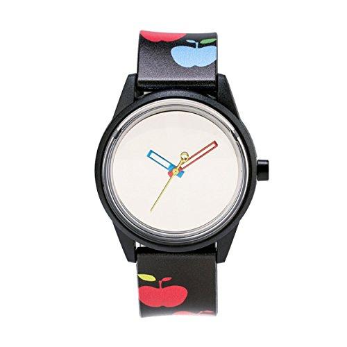 Q&Q SmileSolar Unisex Solar Uhr mit Plastik armband Analog Quarz RP00J020