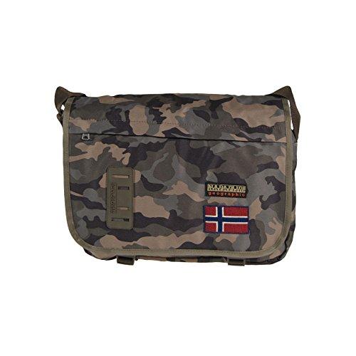 Napapijri Borsello Nordland Reporter Uomo Donna Shoulder Bag Messenger Borsa Tracolla Rosso