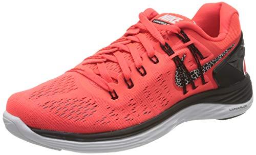 NIKE Nike LunarEclipse 5, Damen Laufschuhe, Mehrfarbig (Weiss/Hellblau), 37.5 EU