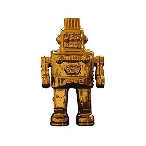 SELETTI Il Mio Robot in Porcellana Limited Gold Edition Cm.17,4X12,4X30 Oro