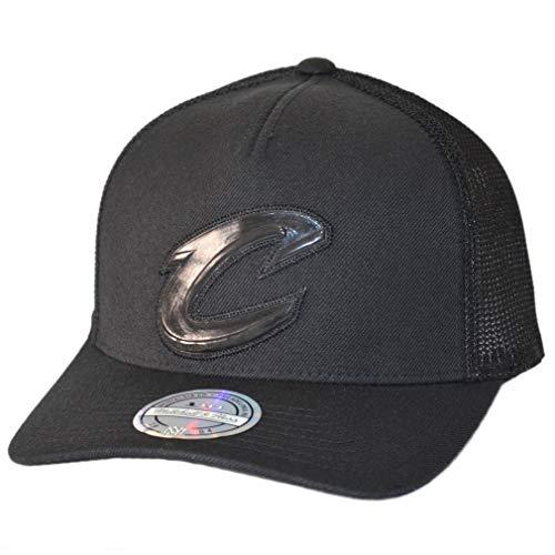 Mitchell & Ness Trucker Cap Zig Zag Cleveland Cavaliers Black