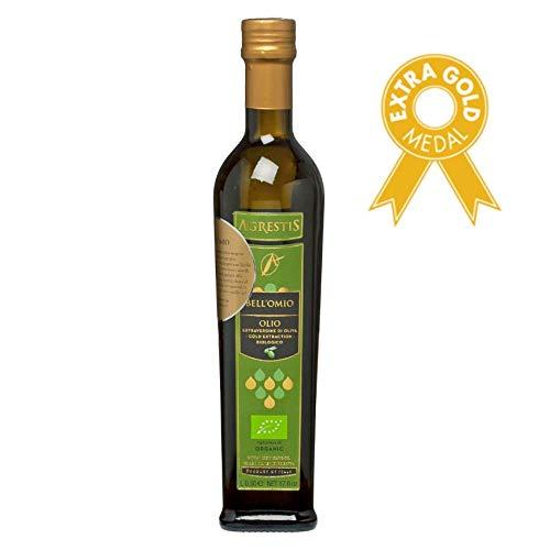 GreenBites: Agrestis Bell'Omio - Biologisches, preisgekröntes extra vergine (kaltgepresst) OlivenÖl aus Sizilien. Neue Ernte 2019/2020