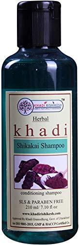 Glamorous Hub Khadi Rishikesh Herbal Shikakai Shampoo Paquete de 210 ml (el empaque puede variar)