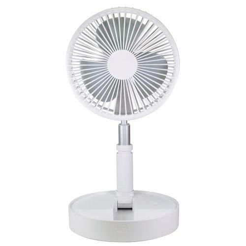 折畳み扇風機フリーファンエアテイク ライトホワイト JPNY-F100(LW)